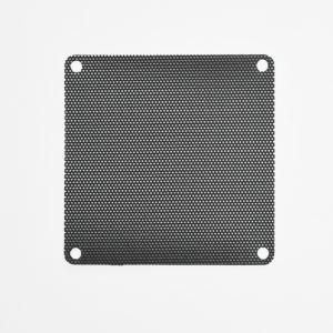 3x 120mm PVC Black Fan Filter